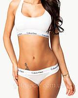 Женский комплект спортивного белья Calvin Klein белый