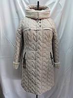 Стёганное женское пальто Звезда