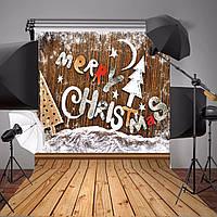 3x5ft ткани рождественские темы деревянные снежинки алфавит фото винил фоном фон студии реквизита