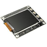 Экран ЖК-дисплей шляпа с кнопками TFT 2.2 \ 320x240 IR датчик для Raspberry / 2b / 3B Пи B+