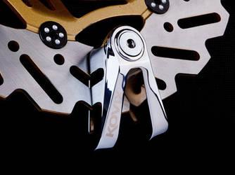 Противоугонный замок на дисковый тормоз мото вело  Kovix KV 2