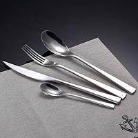 KCASA Flatware FL6 4 шт нержавеющая сталь комплект серебряный посуда посуда комплект столовых приборов нож вилка