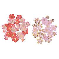 Поделки скрапбукинга бумажные наклейки вишни дневник свадебный альбом сливы цветок украшения