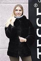 "Шуба из канадской норки BlackNafa ""Валенсия"" canadian mink BlackNafa furcoat jacket"
