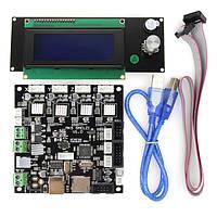 MKS Плата управления комплект 3D-принтер LCD2004 smelzi + Melzi