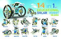 Конструктор Робот 14 в 1 на солнечных батареях, фото 1