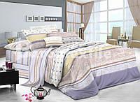 Красивый комплект постельного белья  семейного размера