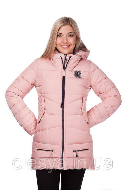 Куртка зимняя женская молодежная на тинсулейте Размер 44-46