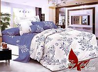 Комплект постельного белья сатин евро TM Tag 088