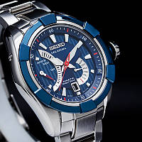 Часы Seiko Velatura SRH017P2 Kinetic Direct Drive 5D44 В, фото 1