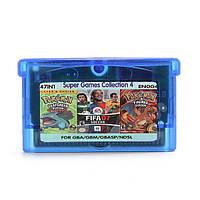 47 в 1 английская игра картриджи pokeman фифа 07 Рокман футбол для GBA игровой консоли