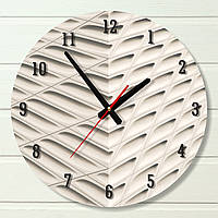 """Настенные часы - """"Крыша"""" (на пластике)"""
