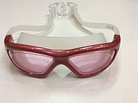 Очки (полумаска) для плавания SAILTO (красная)