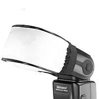 Флэш-диффузор отскок камеры мягкая крышка отсека Canon сигм Sunpak Vivitar Olympus Nikon сони Metz