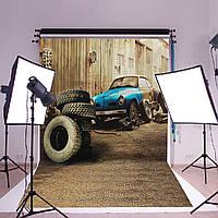 3x5ft автомобильных шин гараж ретро фото фон фотографии фоном студии реквизита