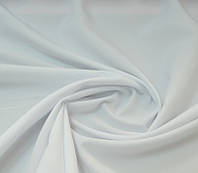 Ткань Габардин Белый с голубизной