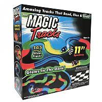 Гоночная трасса Magic Tracks 165 деталей, светится и гнется в темноте