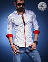 Стильная шёлковая рубашка с длинным рукавом-трансформером (Турция), большой ассортимент