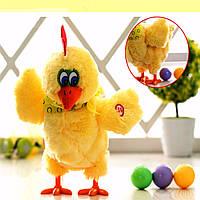 Электрические курица музыкальные танцы укладки яйцо Рождественский подарок смешной образовательные игрушки малыша