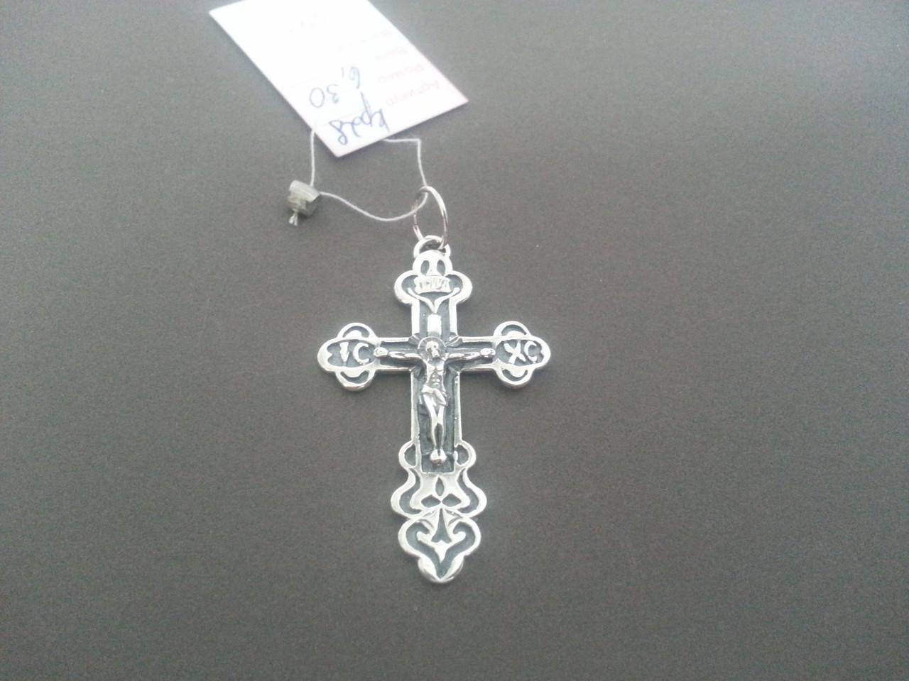 Серебряный Крест арт Кр 28