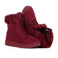 Зимние ботинки на платформе по доступной цене