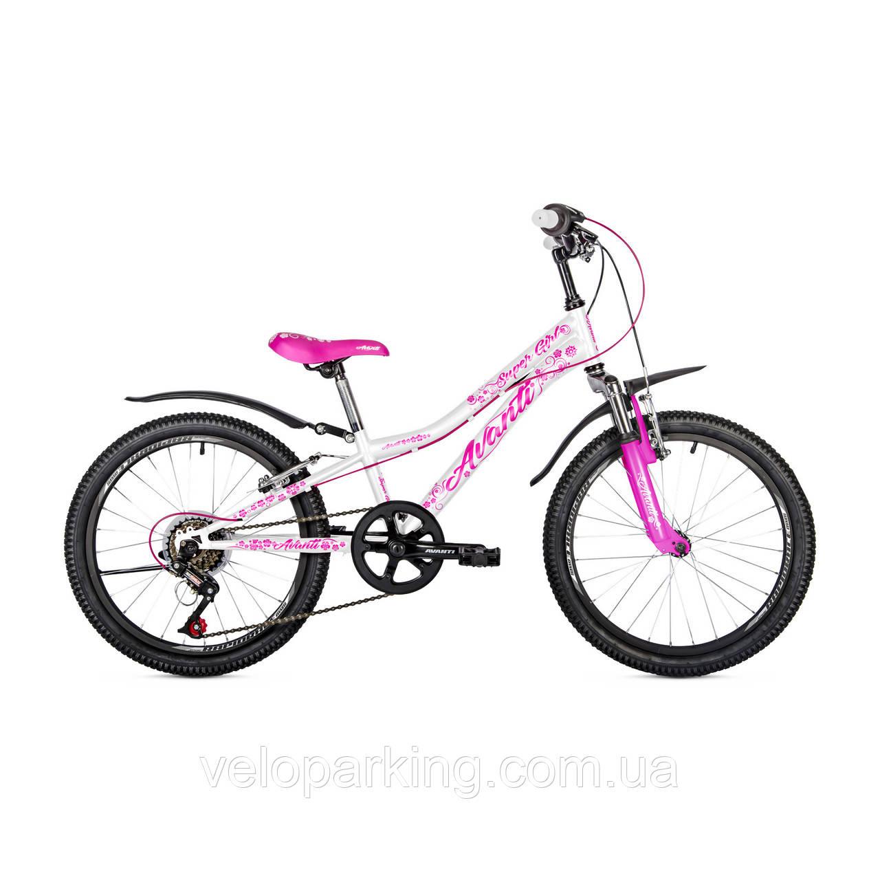 Горный  велосипед для девочки  Avanti Super girl 20 (2018)  new