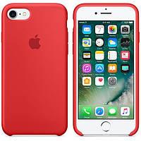 Original silicone case for iPhone 8 red