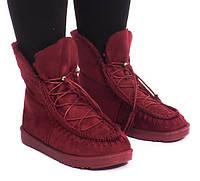 Красивые женские ботинки на зиму