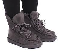 Красивые женские ботинки на зиму с Польши