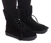 Польские женские ботинки на зиму (еврозима)