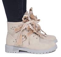 Женские зимние ботинки на каждый день от польского производителя