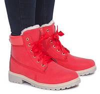 Женские яркие ботинки на зиму с Польши