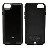 Чехол со встроенным ресивером+п.банк Iphone Ytech YC4 + PB 6/6S/7 B черный