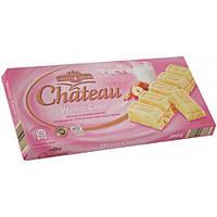 Белый шоколад с кусочками рисовых хлопьев и фундука Chateau Weisse Crisp 200 г , фото 1