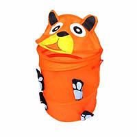 Складной мультфильм хранения корзины грязная одежда белье мешок устроителя корзины малышей игрушка для хранения