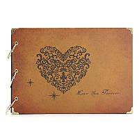 DIY ручной работы Vintage Штамповка Свадебный фотоальбом Eternal Альбом памяти