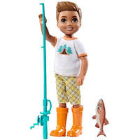 Кукла Барби друг Челси кемпинг / Barbie Camping Fun Boy Doll
