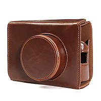 Камера кожаный мешок случая крышки нижнее отверстие для FujiFilm x100 x100s X100M x100t