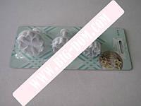 Плунжер для мастики из 3-х Цветы VT6-17080