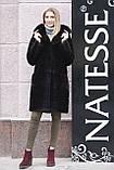 "Норковая шуба с капюшоном ""Иолана"" из норки BlackNafa mink furcoat jacket, фото 2"