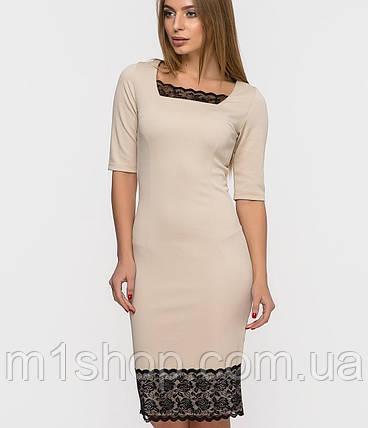 Женственное платье | RICCI с кружевом sk, фото 2