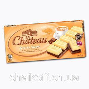 Шоколад черно-белый Chateau Kaffee Sahne, 200г