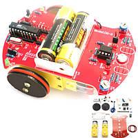 D2-2 умный комплект слежения автомобиля 3v небольшой умный автомобиль AT89C2051 поделок комплект