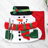 Рождество Санта-Клаус стол коврик с салфетку ткани площадку для обеденный стол домашнего декора рождественские подарки