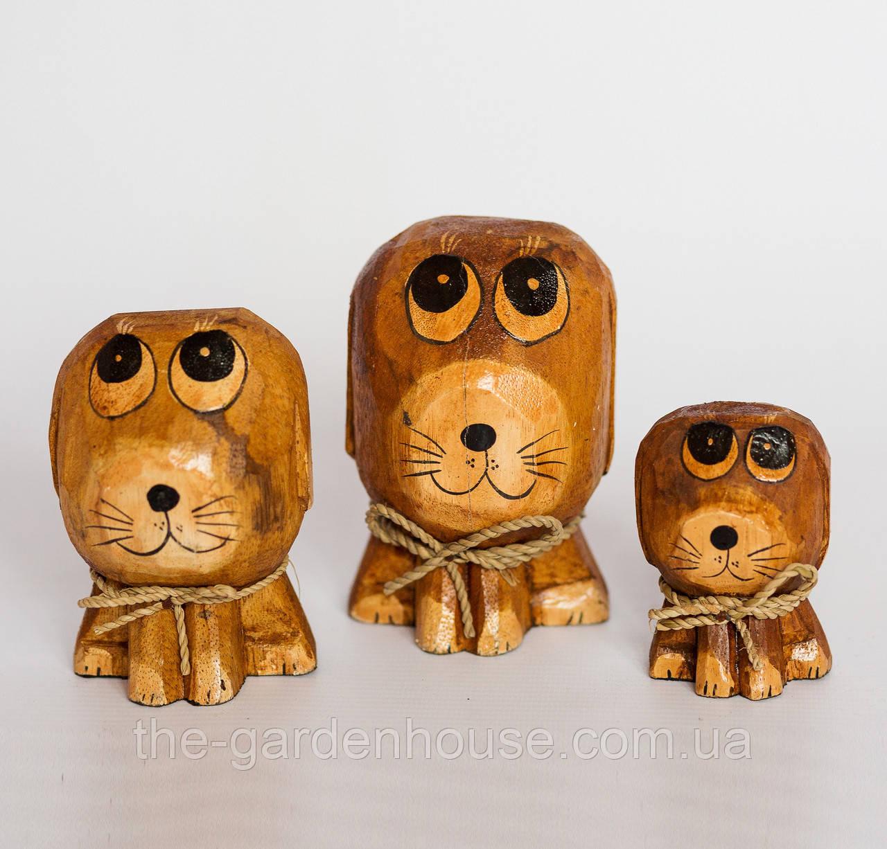 """Набор статуэток собак """"Божие одуванчики"""""""