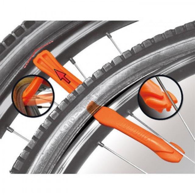 Велосипедная монтажка для разбортировки колеса
