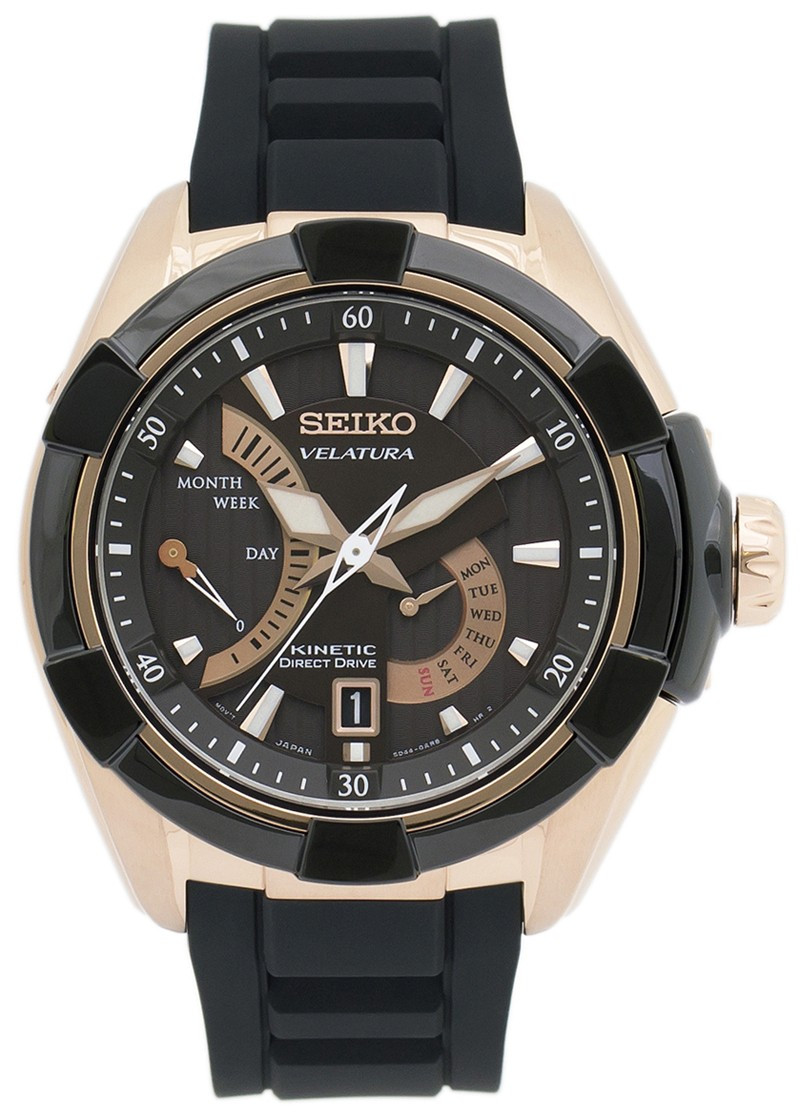 Часы Seiko Velatura SRH020Р1 Kinetic Direct Drive 5D44 В
