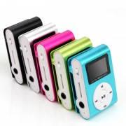 MP3 плеер с LCD экраном + наушники в комплекте. Плеер в подарочной коробочке.