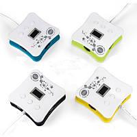Автомобильного прикуривателя напряжение постоянного тока показатель температуры 4 порта USB зарядное устройство - 1TopShop