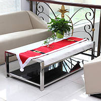 Рождественский стол таблица бегуна коврик комплект рождества украшение дома хлопок скатерть